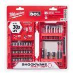 Milwaukee Shockwave Impact Duty Steel Driver Bit Set (35-Piece)-48-32-4007 - The Home Depot