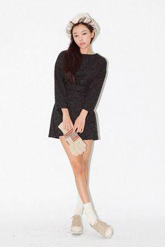时尚混合色迷你套装时尚混合色迷你套装 - 时尚混合色 - 简约圆领 - 迷你套装共3种颜色,不同颜色演绎不同风格!!