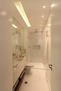 Baños de estilo translation missing: mx.style.baños.moderno por MANDRIL ARQUITETURA E INTERIORES