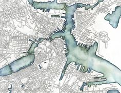"""""""I really want people to find their own places in my maps"""" - @EmilyGarfield http://360.here.com/2015/03/06/these-art-maps-look-real-but-look-again/… #cartography"""