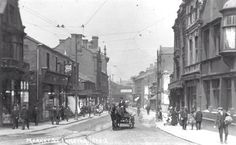 Market Street, Longton, Stoke on Trent Old Pictures, Old Photos, Vintage Photos, Stoke City, Old Street, Stoke On Trent, Coal Mining, Local History, The Past