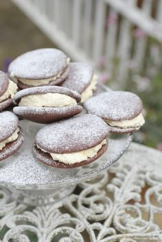 Recipe Testing Chocolate & Vanilla Whoopie Pies - Made With Pink