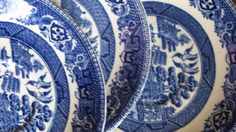 Blue Willow Ware  Old Willow Alfred Meakin. by LazyYVintage 1930's $10.00 http://www.etsy.com/shop/LazyYVintage