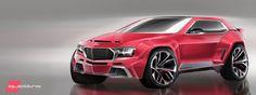 Audi Sport Quattro Inspired Crossover.
