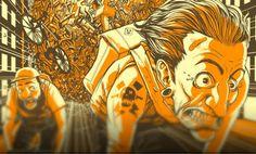 Bike Week Poster de Adam Rosenlund - Diario Colectivo Bicicleta, ilustración y artes visuales de Colombia y Latinoamerica