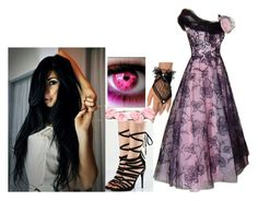"""English Tea Party"" by marythedemon ❤ liked on Polyvore featuring Cult Gaia"