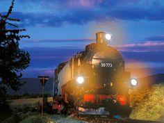Romantischer Ort in Sachsen - Eine Fahrt mit der Fichtelbergbahn von Oberwiesenthal in das herrlich bergige Umland