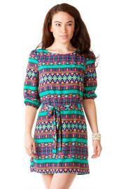 Sunridge Printed Dress