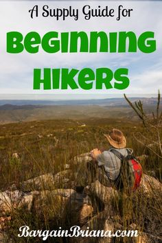Every newbie needs this supply guide for beginning hikers.It will be invaluable when an emergency comes up. Hiking Gear Women, Backpacking For Beginners, Hiking Supplies, Happy Campers, Things To Know, Camping Hacks, Outdoor Camping, Places To See, Road Trip