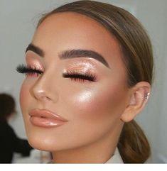 glam makeup – Hair and beauty tips, tricks and tutorials Makeup Trends, Makeup Inspo, Makeup Tips, Makeup Ideas, Daily Makeup, Makeup Goals, Makeup Inspiration, Indie Makeup, Makeup Geek