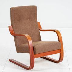 Alvar Aalto, nojatuoli, nro 36, 1930-40-luku. Alvar Aalto, Rocking Chair, Furniture, Home Decor, Chair Swing, Decoration Home, Room Decor, Rocking Chairs, Home Furnishings