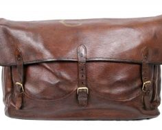 vintage leather. yes.