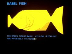 Yellow Babel Fish