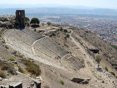 The Greek Theatre of Pergamom