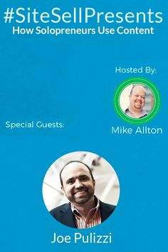 Let Joe Pulizzi teach you how the most successful companies use content to grow their business.