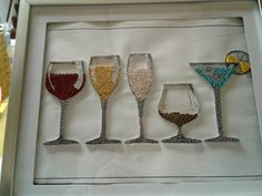 Flute, Paper Cutting, Quilling, Origami, Champagne, Tableware, Ideas, Food, Craft