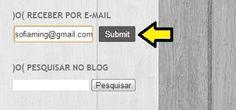 Como receber as postagens do blogger por e-mail
