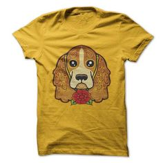 If you are a lover for Cocker spaniel or your friend. This will be a great gift for you or your friend: sugar spaniel Tee Shirts T-Shirts Jamaica Shirt, Japon Street Fashion, Tattoo Shirts, Cool Tees, Nice Shirts, Xmas Shirts, Sports Shirts, Baseball Shirts, Cocker Spaniel
