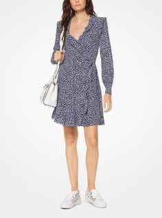 ea0f077065a0 MICHAEL Michael Kors Paisley Washed Silk Wrap Dress Dress Clothes For  Women, Ladies Dress Design
