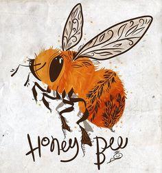 100dayproject - honeybee | Andi Butler Instagram