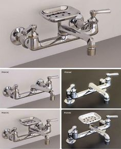 farmhouse faucets | If you have a farmhouse kitchen sink — and need a wall mount faucet ...