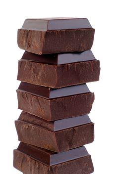 Neeeee! Niet wanneer je toch al honger hebt op Pinterest gaan kijken ... chocolat noir ... waar zijn de paaseitjes?