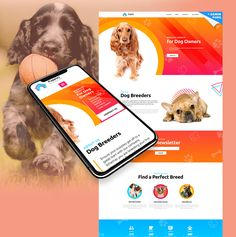 Puppies - Dog Breeder Landing Page Template Landing Page Examples, Best Landing Pages, Template Site, Templates, Landing Page Inspiration, Dog Owners, Dogs And Puppies, Pets, Html