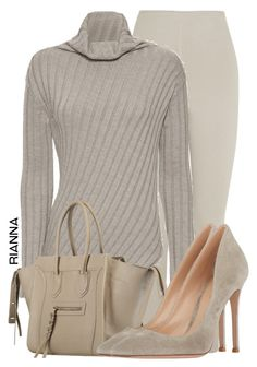 """""""#141"""" by rgkstyles ❤ liked on Polyvore featuring Bottega Veneta, Joseph and Gianvito Rossi"""