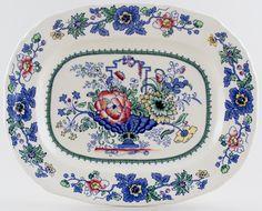 Masons Strathmore colour Meat Dish or Platter - 30x24cm - 55£