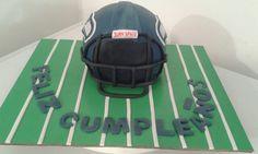 American futbol cake