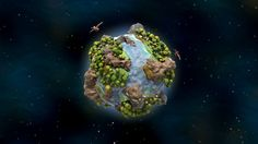 "De Planeta (latin for ""about a planet"") is a short and stylised procedural animation that revolves around birth, life and death of a little planet, showing…"