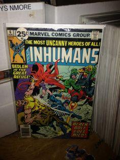 THE INHUMANS #6 AVENGERS, MARVEL COMICS