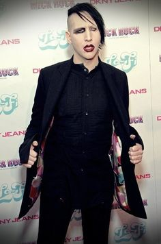 Marilyn Manson.  He disturbs me to my very core.
