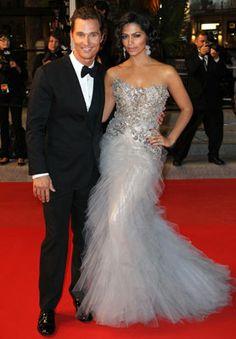 Matthew McConaughey and Camila Alves Wedding