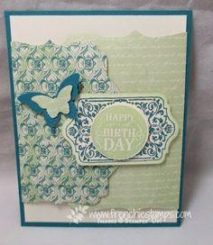 Stamp & Scrap with Frenchie: Designer Series Paper Venetian Romance