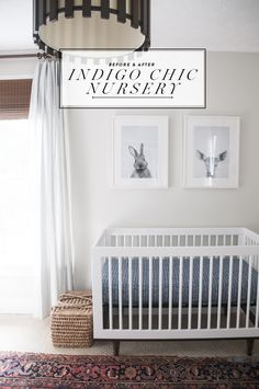 Before & After: Gender Neutral Nursery - Earnest Home co.                                                                                                                                                                                 More