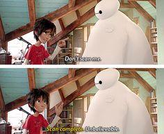 Unbelievable<<just like Tadashi. Disney parallels.