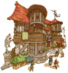 List of Final Fantasy Crystal Chronicles: My Life as a King Buildings