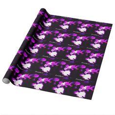 Purple Jellyfish Gift Wrap