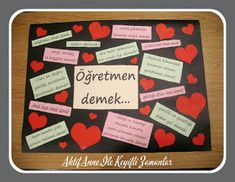 AKTİF ANNE ile keyifli zamanlar...: Öğretmen demek ... Diy And Crafts, Crafts For Kids, Colorful Parrots, Teachers' Day, Kids And Parenting, More Fun, Kindergarten, Preschool, Classroom