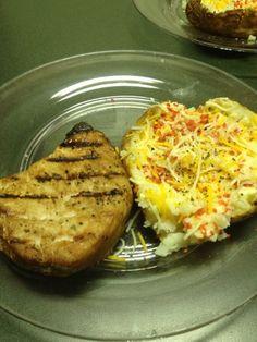 Katherine in the Kitchen: Soy Sauce Marinated Pork Chops    #pork #dinner #whitemeat #kitk #katherineinthekitchen