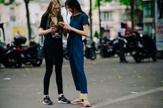 Maryna Polkanova + Anastasia Chekry | Paris via Le 21ème