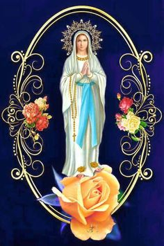 Blessed Mother Mary, Divine Mother, Blessed Virgin Mary, Hail Holy Queen, Hail Mary, Jesus Christ Images, Jesus Art, Catholic Pictures, Jesus Pictures