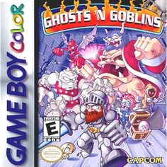 ghosts 'n goblins on #gameboy color action 0e from $72.93