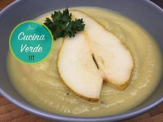 Sellerie-Birnen Suppe - Rezept von Joes Cucina Verde Hummus, Dairy, Cheese, Ethnic Recipes, Post, Tags, Blog, Celeriac Recipes, Pear Recipes
