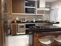 cozinha em madeira marrom - Pesquisa Google
