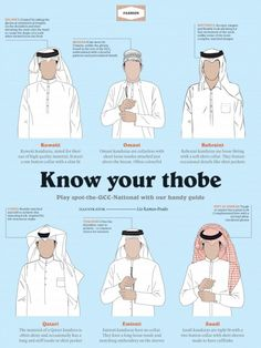 Thobe - Peeps need to know how it goes down in the Middle East!