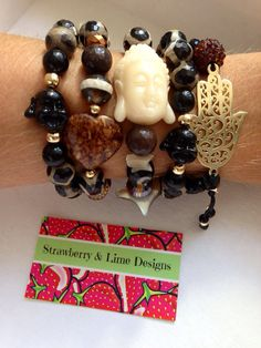 Gold Dust Buddha Style by strawberryandlime on Etsy, $80.00 #bracelets #armcandy #armparty #fashion #design #style #trend #wristparty #wristcandy #pulseras #fashion #accessories #necklace #ring #hamsa #evileye #yoga #lotoflower #flowers #rose #cute #pretty #pink #strawberrynlime #cute #colorful #neon #gold #pearls