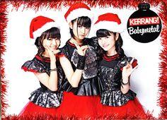 BABYMETAL Christmas Poster Kerrang (UK) Issue 1548 17-12-2014
