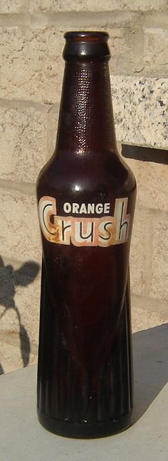Orange Crush..used to get one after school every day at Craft's Drug Store in Greer,SC